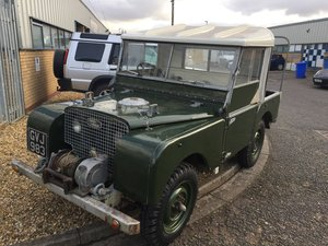 "Rare 80"" 1950 Land Rover Series 1 For Sale"