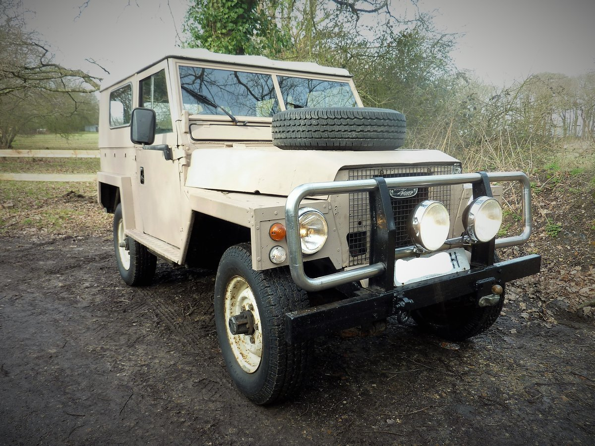1970 Land Rover S2 Lightweight V8 For Sale (picture 2 of 6)