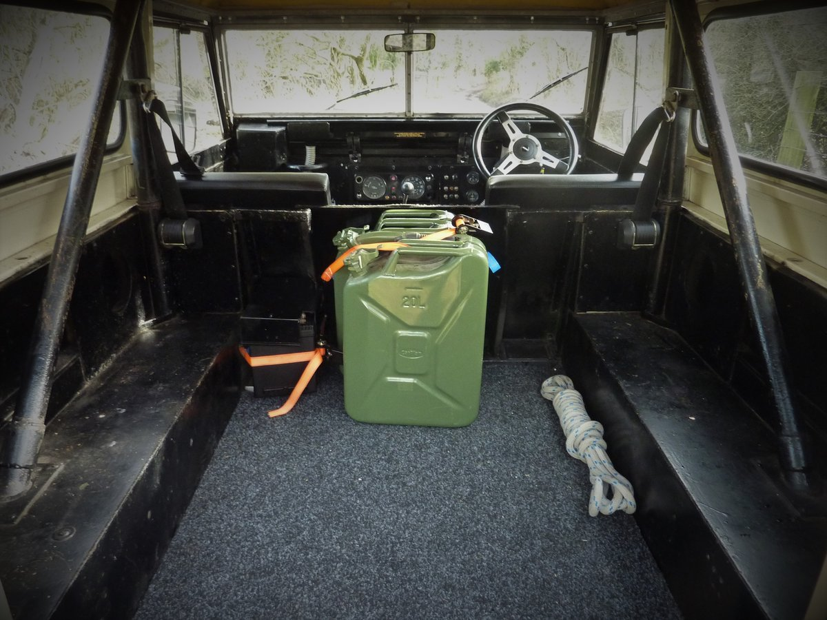 1970 Land Rover S2 Lightweight V8 For Sale (picture 5 of 6)