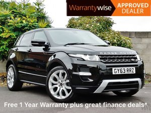 2014 Range Rover Evoque 2.2 SD4 Dynamic LUX with huge spec! For Sale
