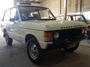 1976 Original Suffix D two door Classic Range Rover