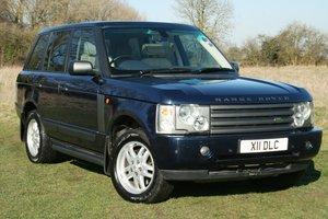 2004 Range Rover 3.0 TD6 Vogue Auto SOLD
