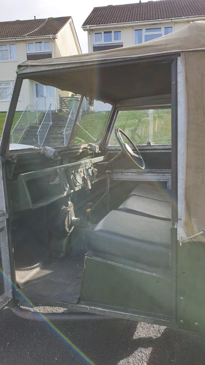 1957 88, 2lt Petrol, Ex Civil Defense. For Sale (picture 5 of 6)
