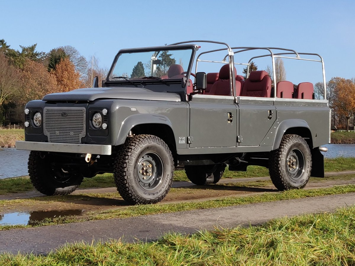 2008 Land Rover Defender 110 Soft Top 2.4 Tdci  rebuild HERITAGE SOLD (picture 1 of 6)