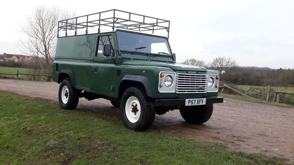 1997 LAND ROVER DEFENDER 110  2.5 300 tdi SOLD (picture 2 of 6)