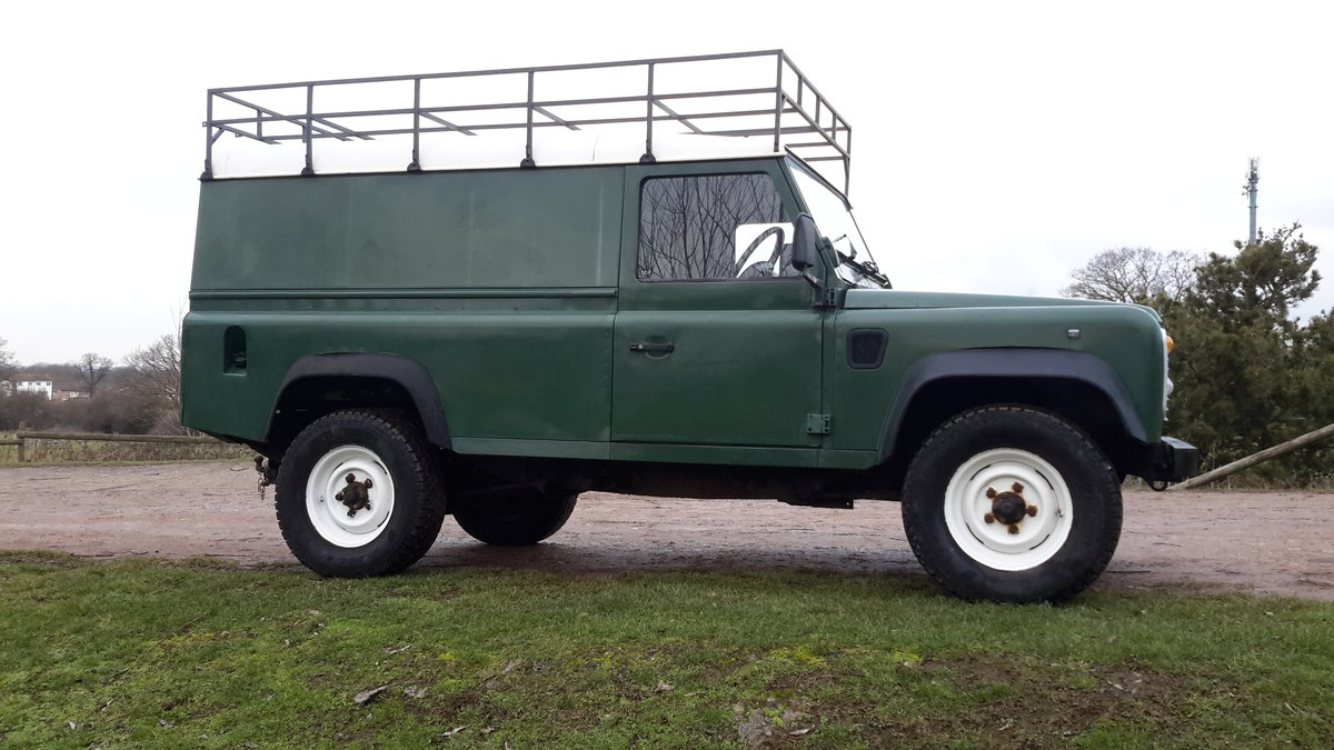 1997 LAND ROVER DEFENDER 110  2.5 300 tdi SOLD (picture 3 of 6)
