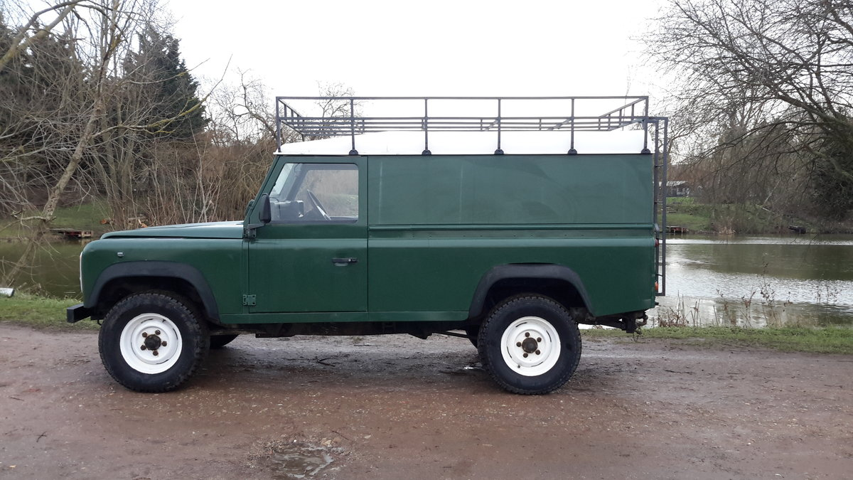1997 LAND ROVER DEFENDER 110  2.5 300 tdi SOLD (picture 4 of 6)