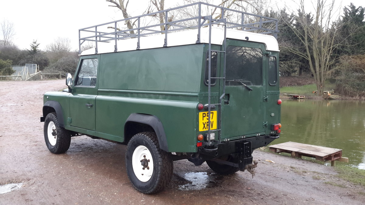 1997 LAND ROVER DEFENDER 110  2.5 300 tdi SOLD (picture 5 of 6)