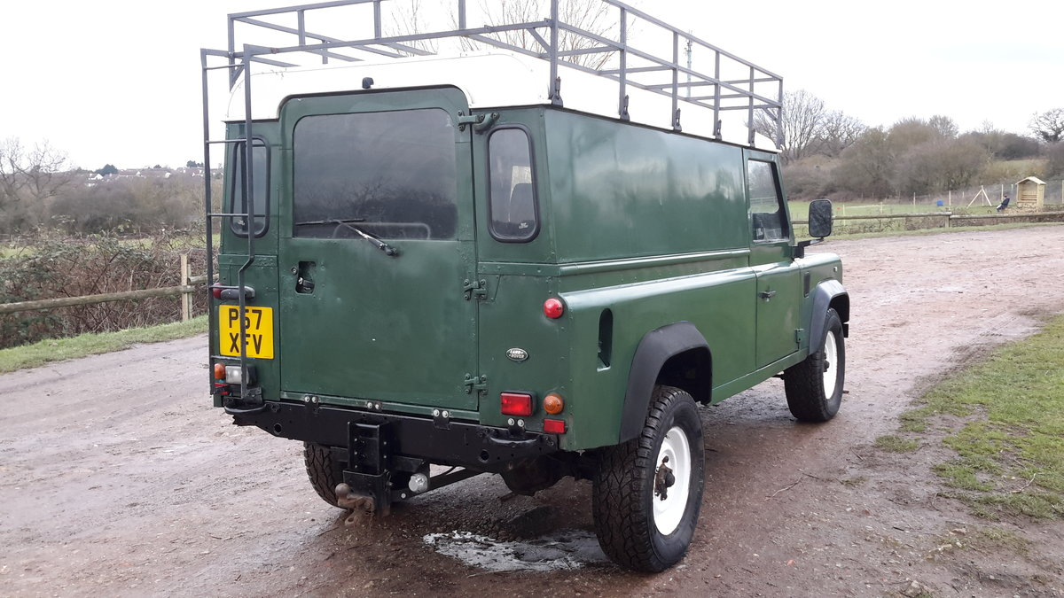 1997 LAND ROVER DEFENDER 110  2.5 300 tdi SOLD (picture 6 of 6)