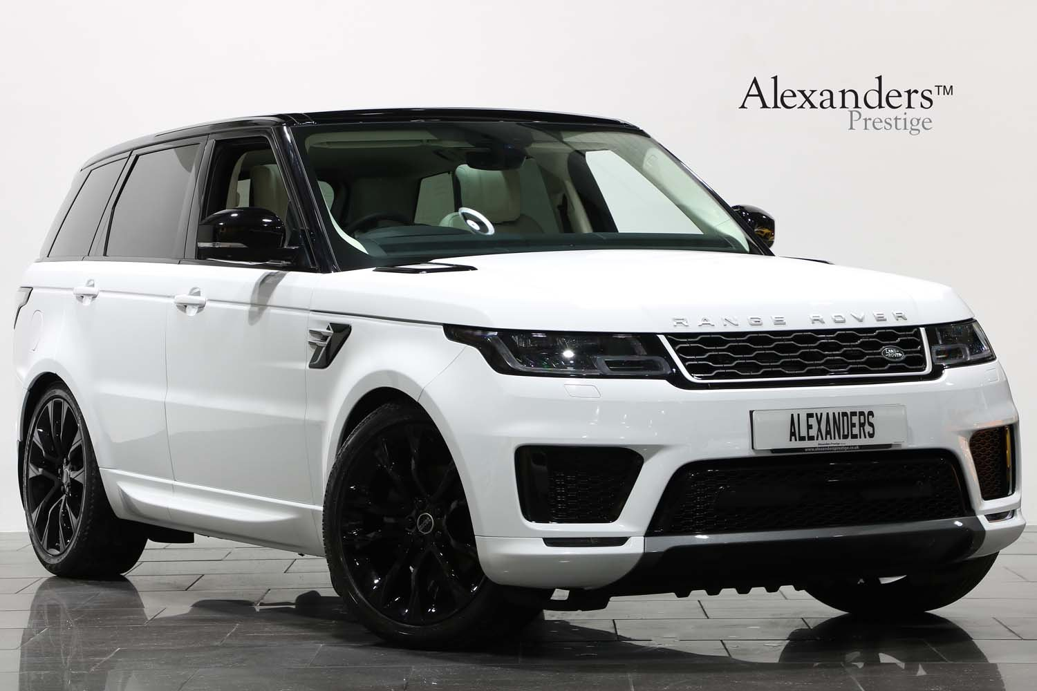 2018 68 RANGE ROVER SPORT 3.0 SDV8 HSE AUTO For Sale (picture 1 of 6)
