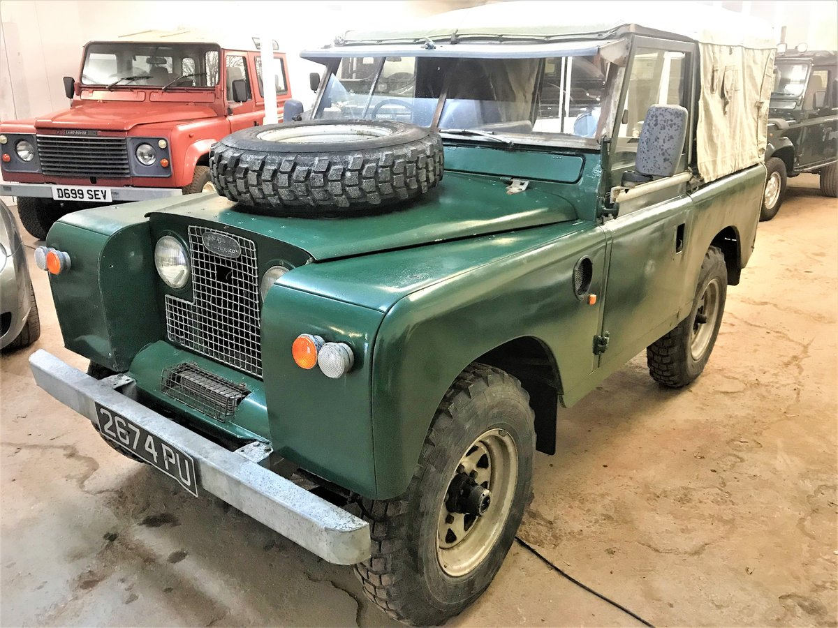 1967 Land Rover Series IIa 88in diesel + galvanised chassis SOLD (picture 1 of 6)