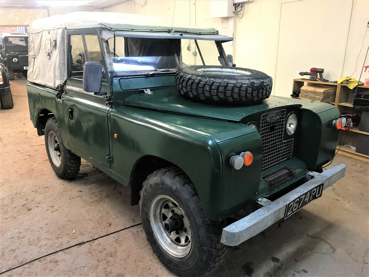 1967 Land Rover Series IIa 88in diesel + galvanised chassis SOLD (picture 2 of 6)