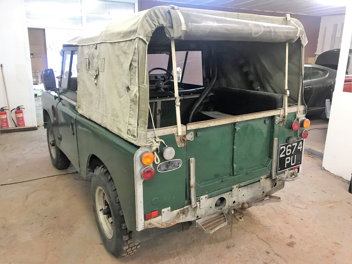 1967 Land Rover Series IIa 88in diesel + galvanised chassis SOLD (picture 4 of 6)