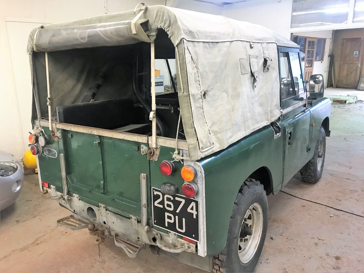 1967 Land Rover Series IIa 88in diesel + galvanised chassis SOLD (picture 5 of 6)