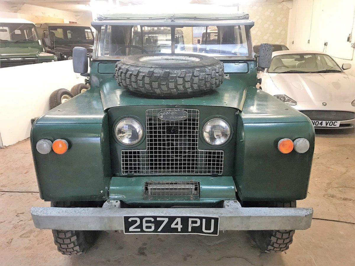 1967 Land Rover Series IIa 88in diesel + galvanised chassis SOLD (picture 6 of 6)