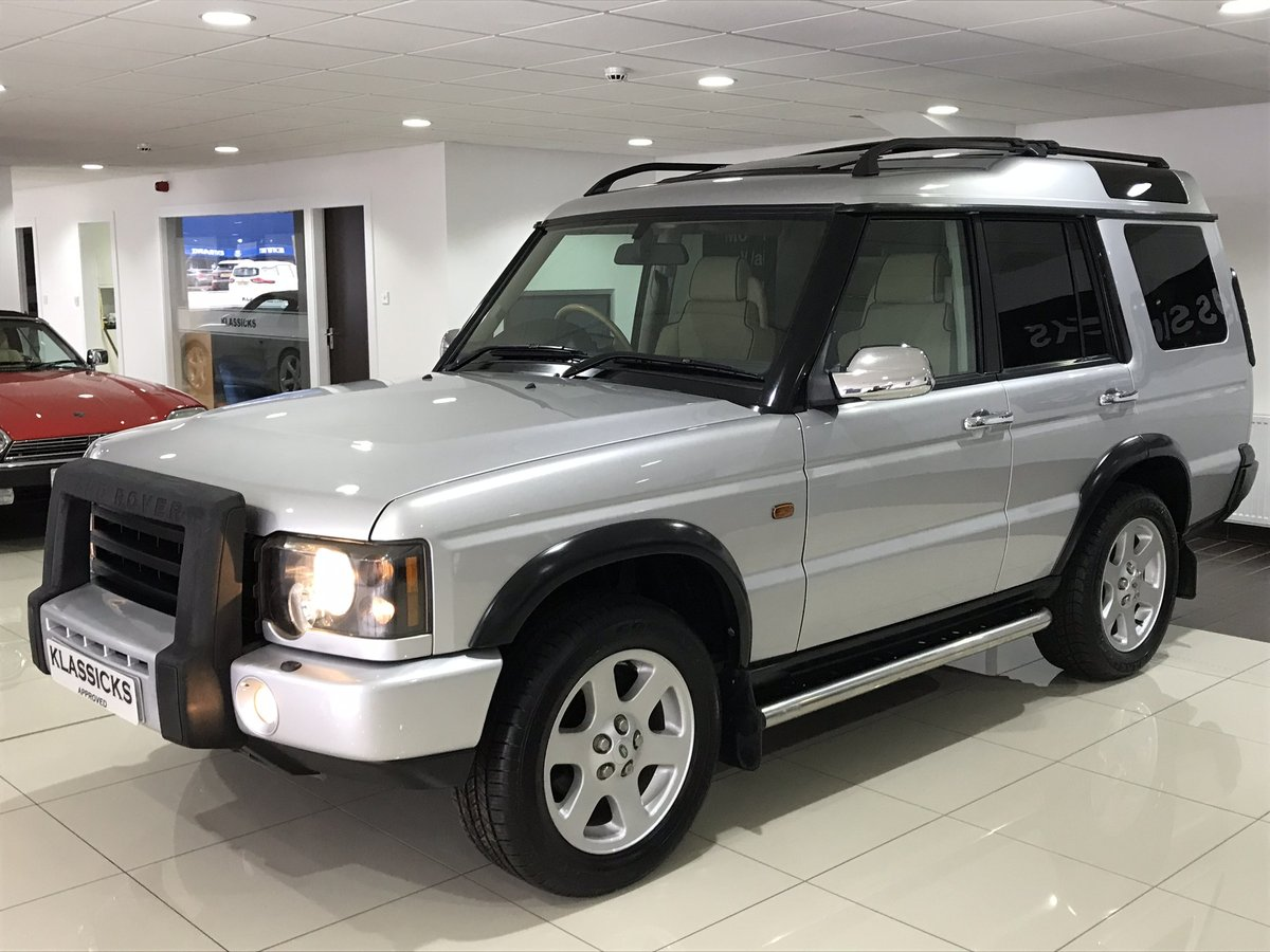 2003 LAND ROVER DISCOVERY 2 4.0 V8i ES AUTOMATIC 7 SEATER SOLD (picture 1 of 6)