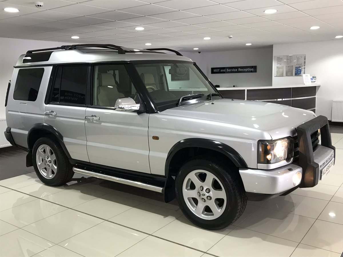 2003 LAND ROVER DISCOVERY 2 4.0 V8i ES AUTOMATIC 7 SEATER SOLD (picture 2 of 6)