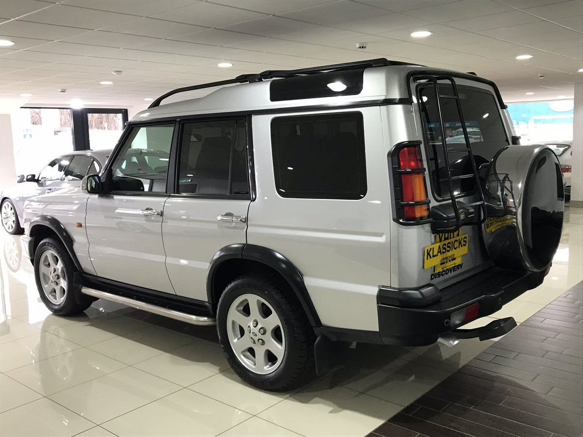 2003 LAND ROVER DISCOVERY 2 4.0 V8i ES AUTOMATIC 7 SEATER SOLD (picture 3 of 6)