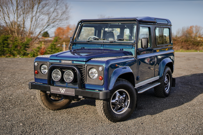 1999 Land Rover Defender 90 50th Anniversary Edition 4.0 V8 Auto SOLD (picture 1 of 6)