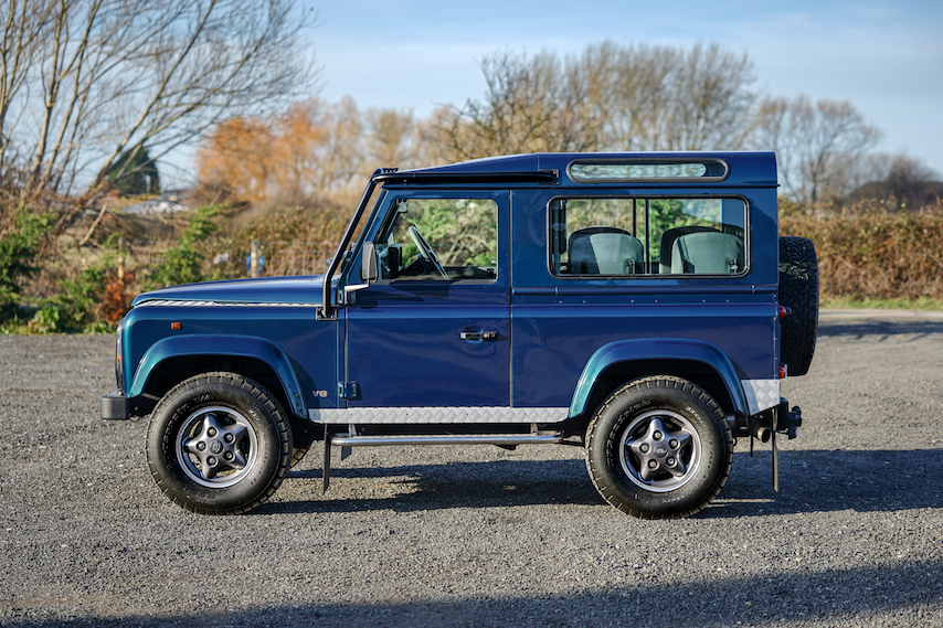 1999 Land Rover Defender 90 50th Anniversary Edition 4.0 V8 Auto SOLD (picture 2 of 6)