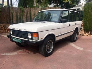 1994 LHD Range Rover Classic 300 Tdi in Spain For Sale