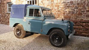 1975 Land Rover Series 3 SWB 88 Truck Cab Canvas For Sale