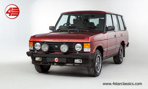 1993 Range Rover Classic Vogue /// Trocadero Red /// 120k Miles For Sale