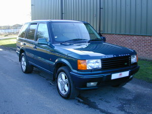 1998 RANGE ROVER P38 4.6 50th ANNIVERSARY - COLLECTOR QUALITY! For Sale