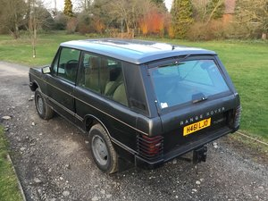 1990 2 Door Range Rover 20th Anniversary edition For Sale