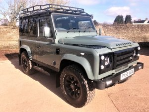 2008 08/58 Defender 90 TDCi station wagon+massive spec+looks A1