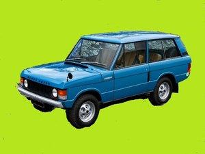 1969 wanted Land Rover, RangeRover classic, 3door car,