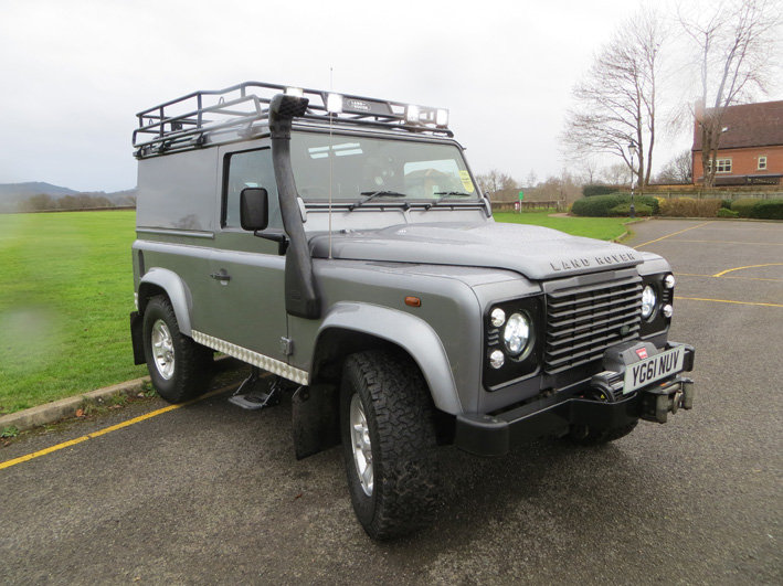 Land Rover Defender TDCi 2.5 Diesel 2011 For Sale (picture 1 of 6)