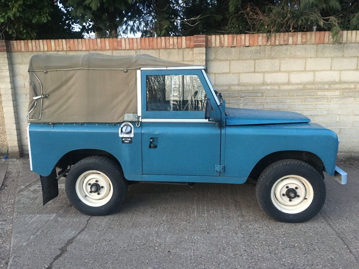 Land Rover 88 1975/N Reg Only 58,000 Genuine Miles For Sale (picture 1 of 6)