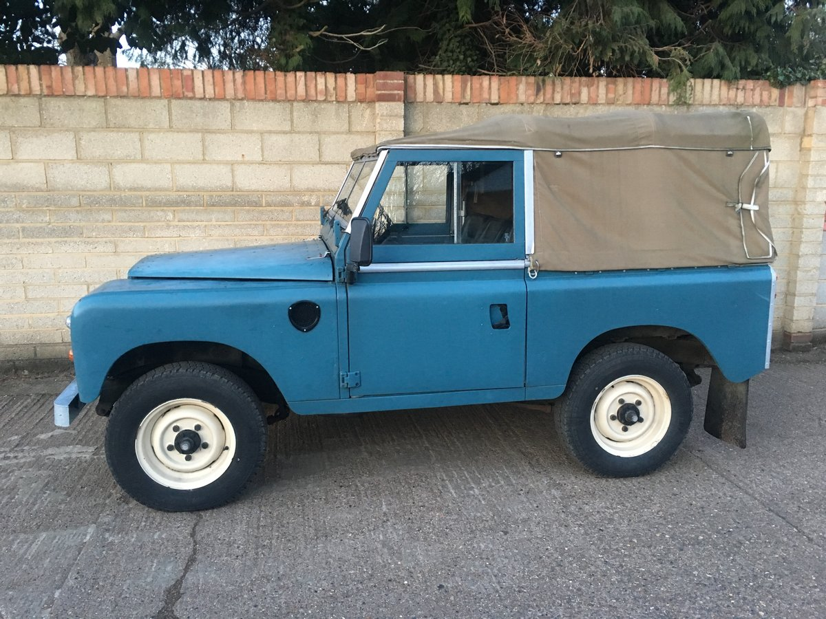 Land Rover 88 1975/N Reg Only 58,000 Genuine Miles For Sale (picture 2 of 6)