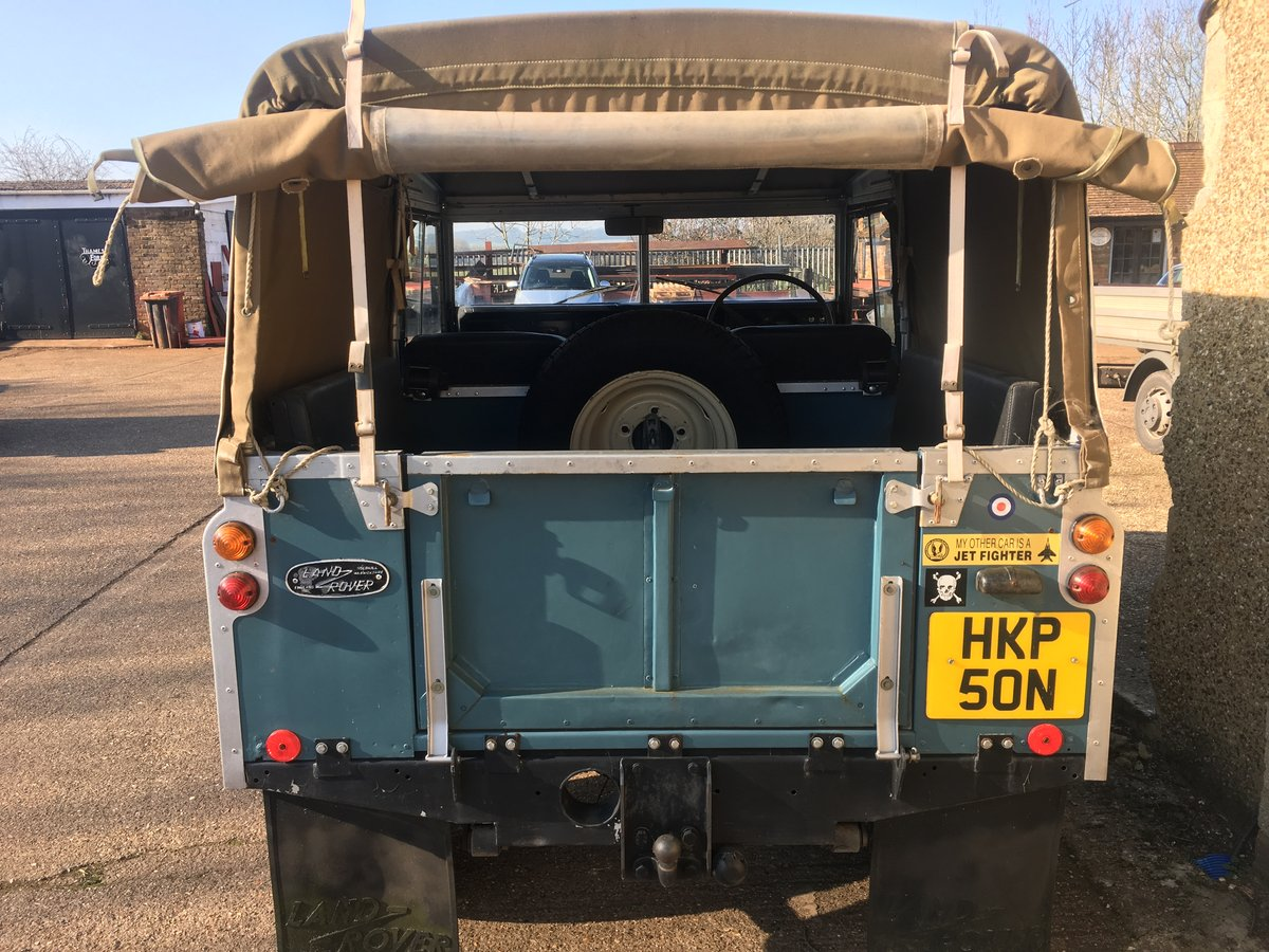 Land Rover 88 1975/N Reg Only 58,000 Genuine Miles For Sale (picture 4 of 6)