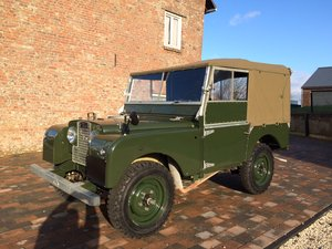 "1953 Fully restored Land Rover 80"" Series 1 Softtop LHD For Sale"