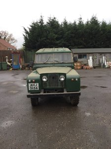 1963 Landrover Series 2A