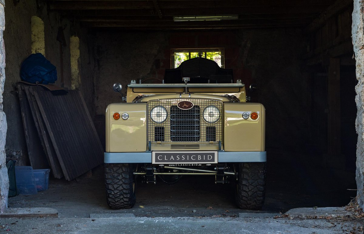 1967 Land Rover Bell Aurens Longnose V8  SOLD (picture 1 of 3)