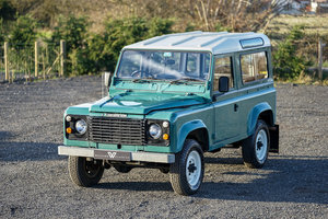 1986 Land Rover 90 Factory V8 Station Wagon 41,000 Miles From New For Sale