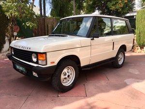 1988 LHD Range Rover Classic 2 Door 2.4 TD in Spain SOLD