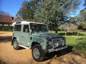 2009 Land Rover Defender Heritage style