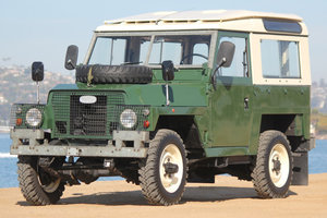 1978 Land Rover LHD Lightweight Series III Air Portable $32k For Sale