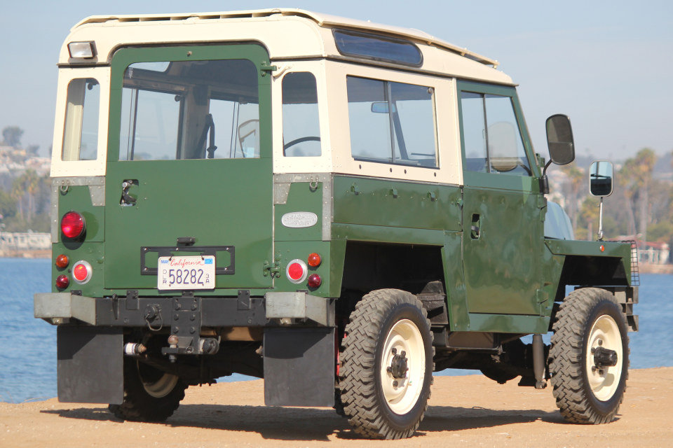 1978 Land Rover LHD Lightweight Series III Air Portable $32k For Sale (picture 2 of 6)