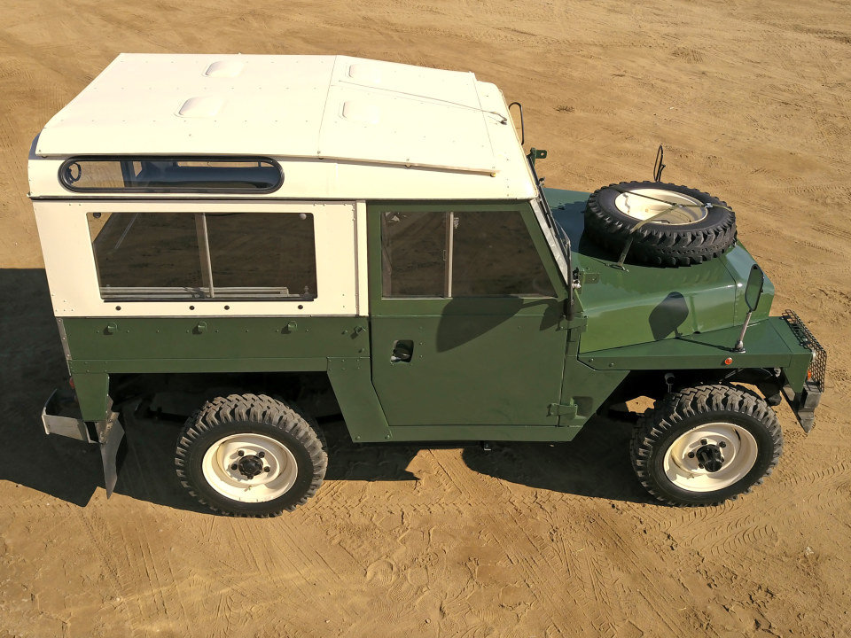 1978 Land Rover LHD Lightweight Series III Air Portable $32k For Sale (picture 3 of 6)