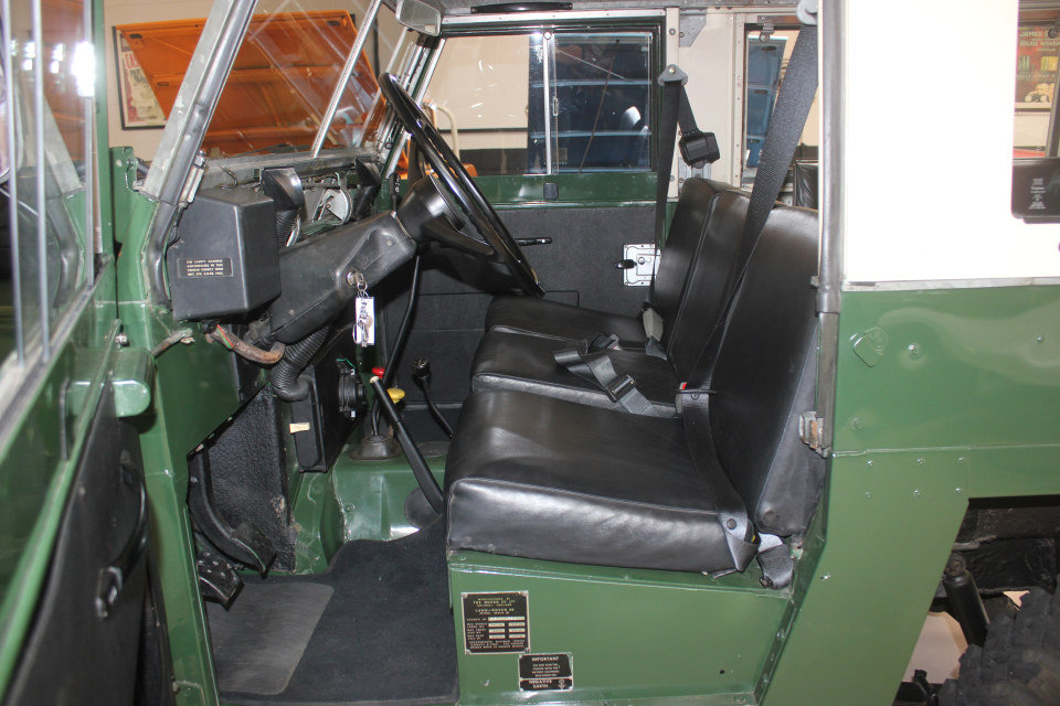 1978 Land Rover LHD Lightweight Series III Air Portable $32k For Sale (picture 4 of 6)