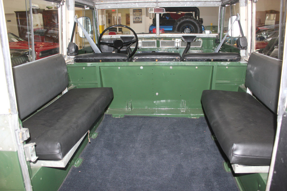 1978 Land Rover LHD Lightweight Series III Air Portable $32k For Sale (picture 6 of 6)
