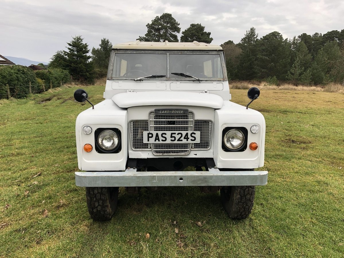 1977 Land Rover Series 3 Diesel LWB .Drive away £3250 For Sale (picture 2 of 6)