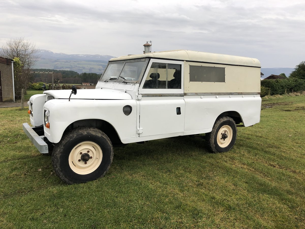 1977 Land Rover Series 3 Diesel LWB .Drive away £3250 For Sale (picture 3 of 6)