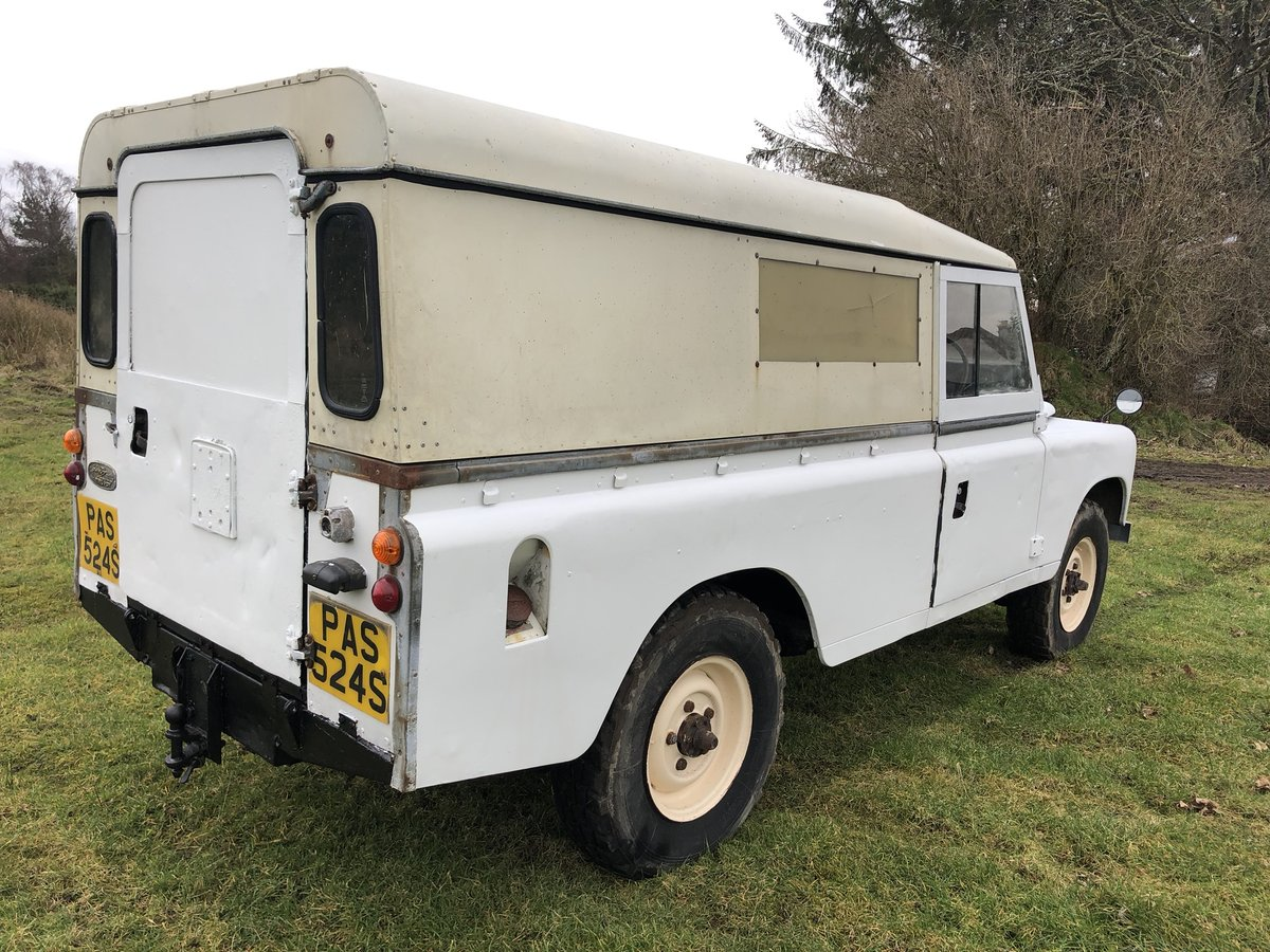 1977 Land Rover Series 3 Diesel LWB .Drive away £3250 For Sale (picture 5 of 6)