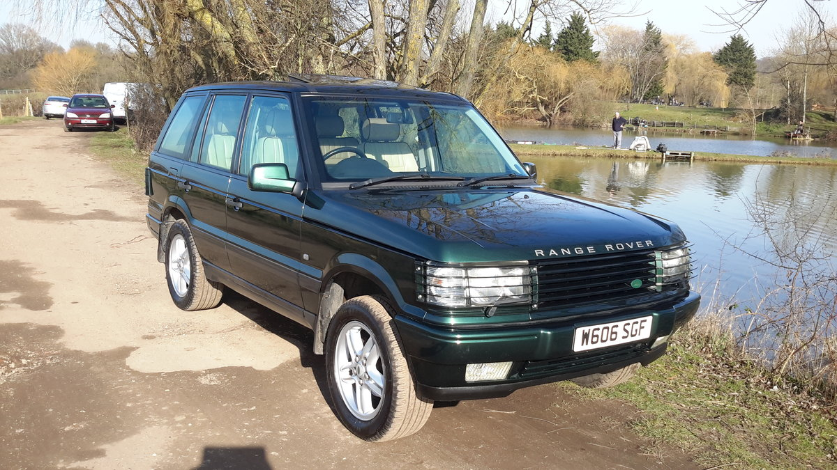 RANGE ROVER 4.6 VOGUE AUTOMATIC 2000  125000 MILES For Sale (picture 1 of 6)
